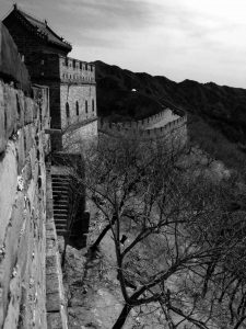 The wall (Great Wall, China)