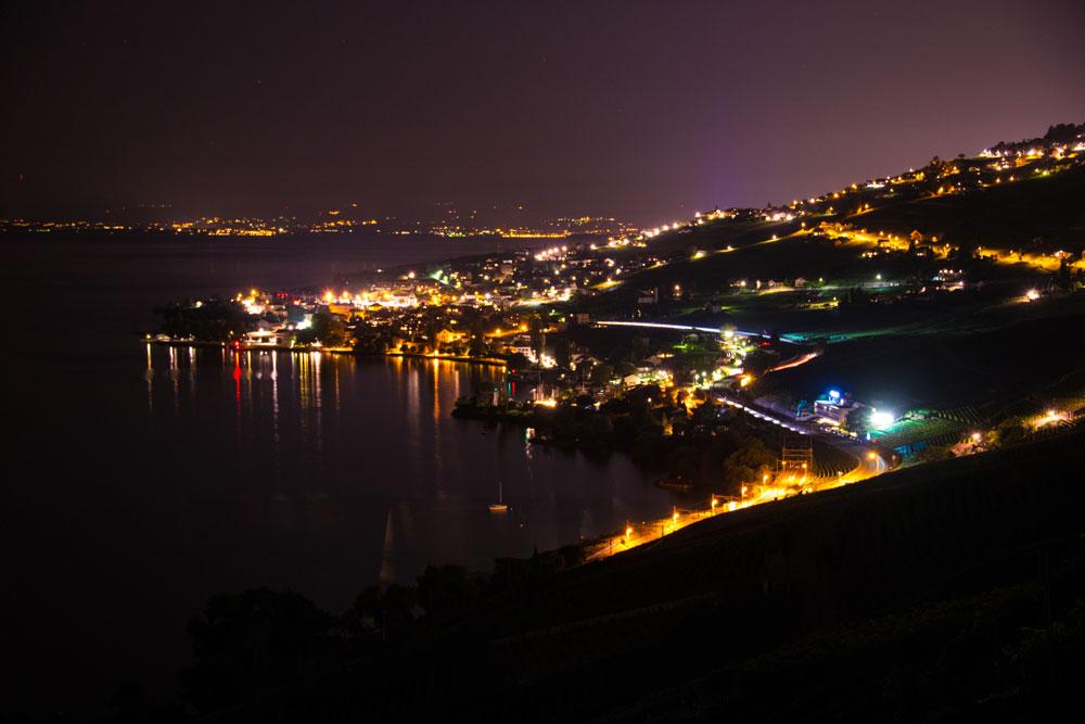 Summer lights (Lavaux, Switzerland)