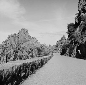 Rock castles (Piana, France)